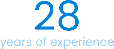 28 year of experience